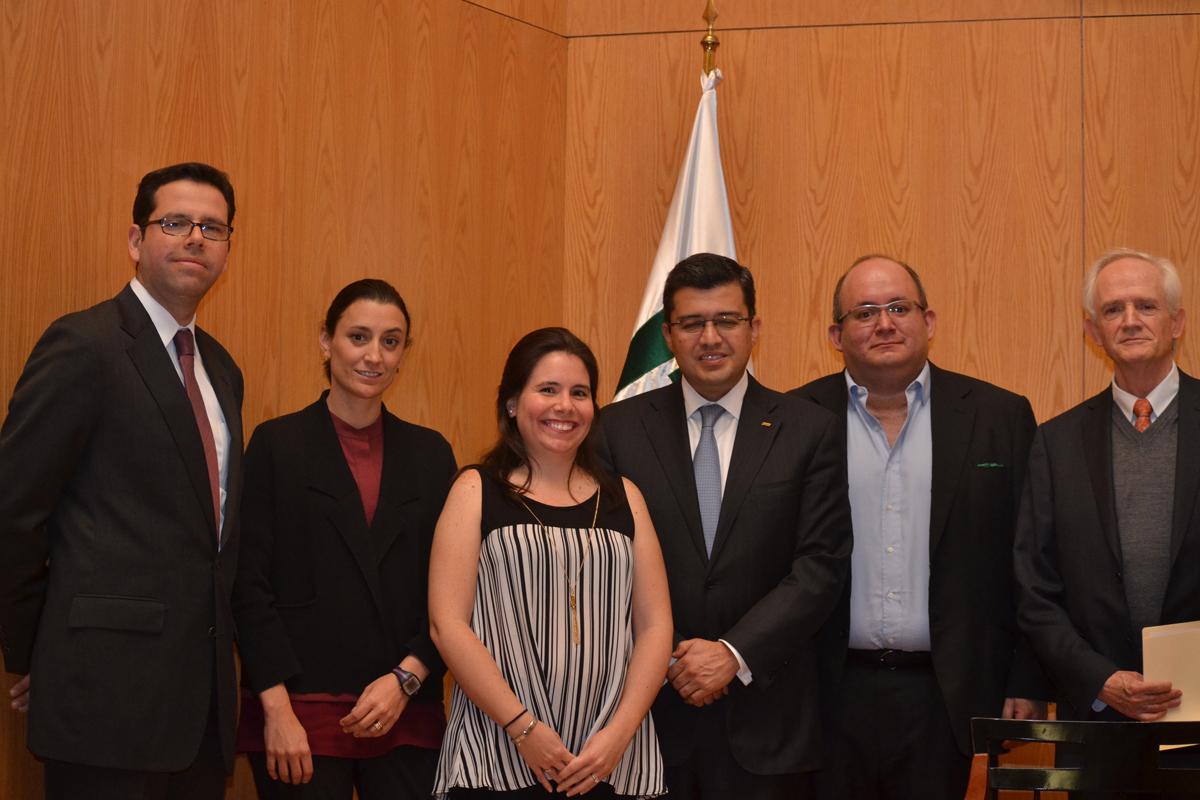 Francisco Pérez González, Daniela Ruiz, Annapaola Llanas, Víctor Esquivel, Pablo Galván y Miguel de Lascurain